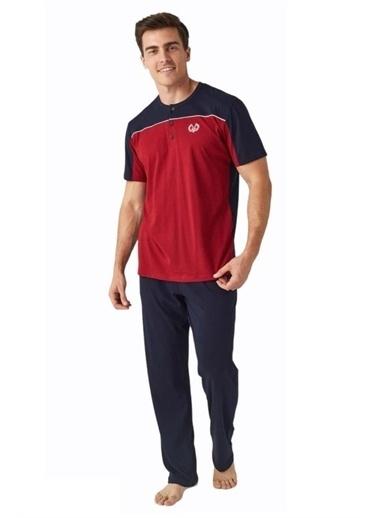 Mod Collection Pijama Takım Lacivert